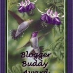 The Adventures of Love Bugs received the Blogger Buddy Award